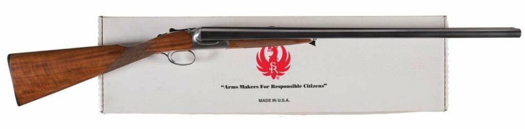 The Ruger Gold Label shotgun.