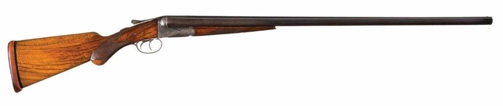 The Parker VHE Grade shotgun.