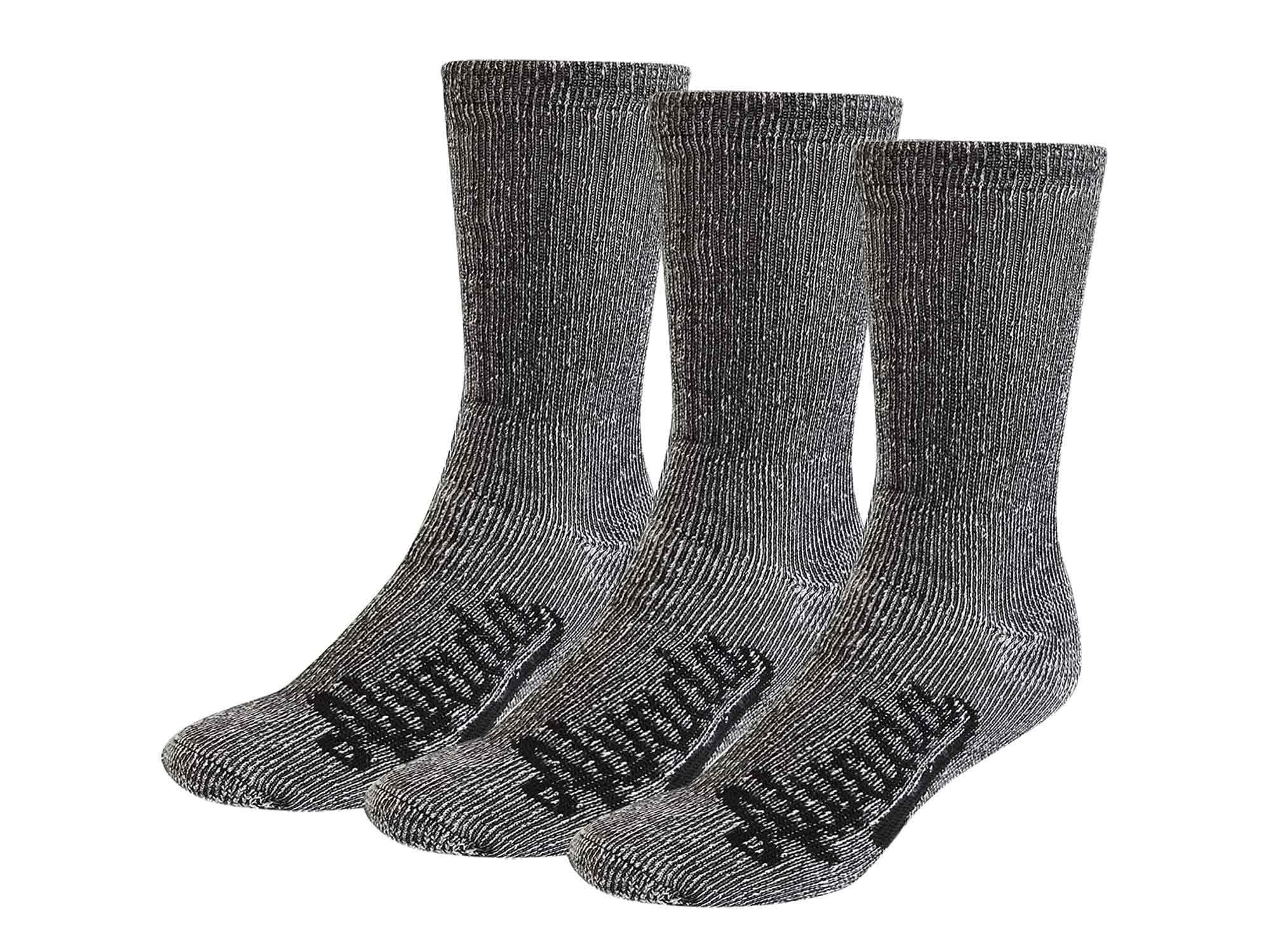 Alvada 80% Merino Wool Hiking Socks Thermal Warm Crew Winter Boot Sock for Men & Women 3 Pairs