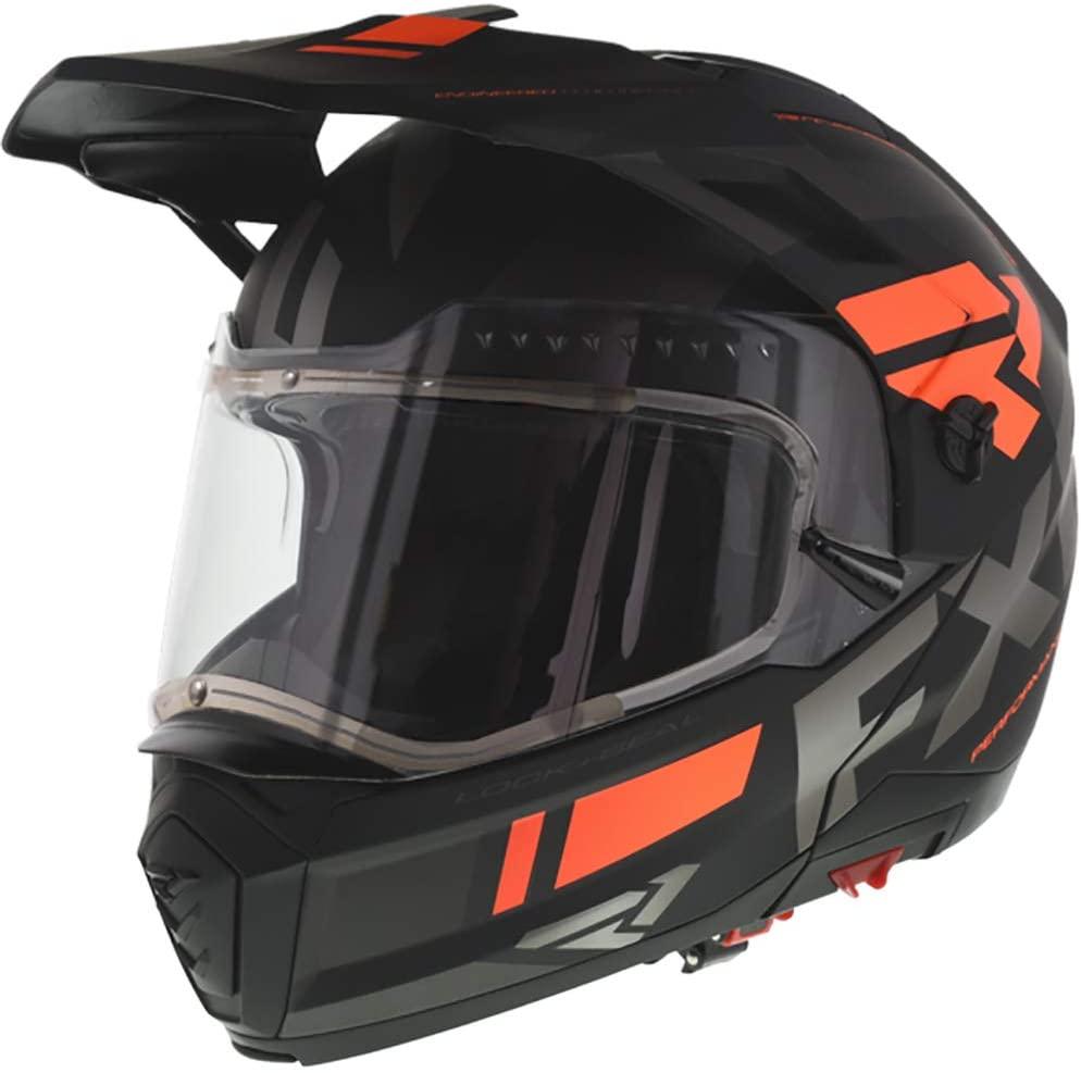 FXR Maverick Modular Team Helmet is an essential piece of protective gear.
