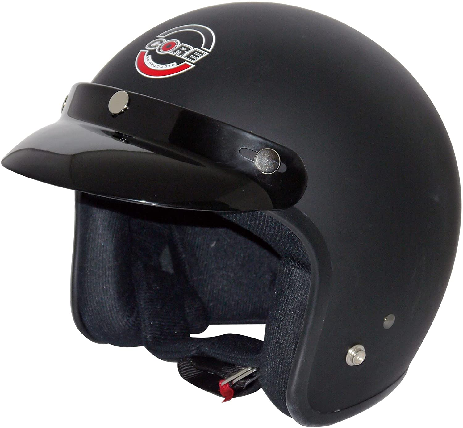 Core Helmets Hunter Safety Deluxe Open Face Helmet is one of the best pieces of safety equipment.