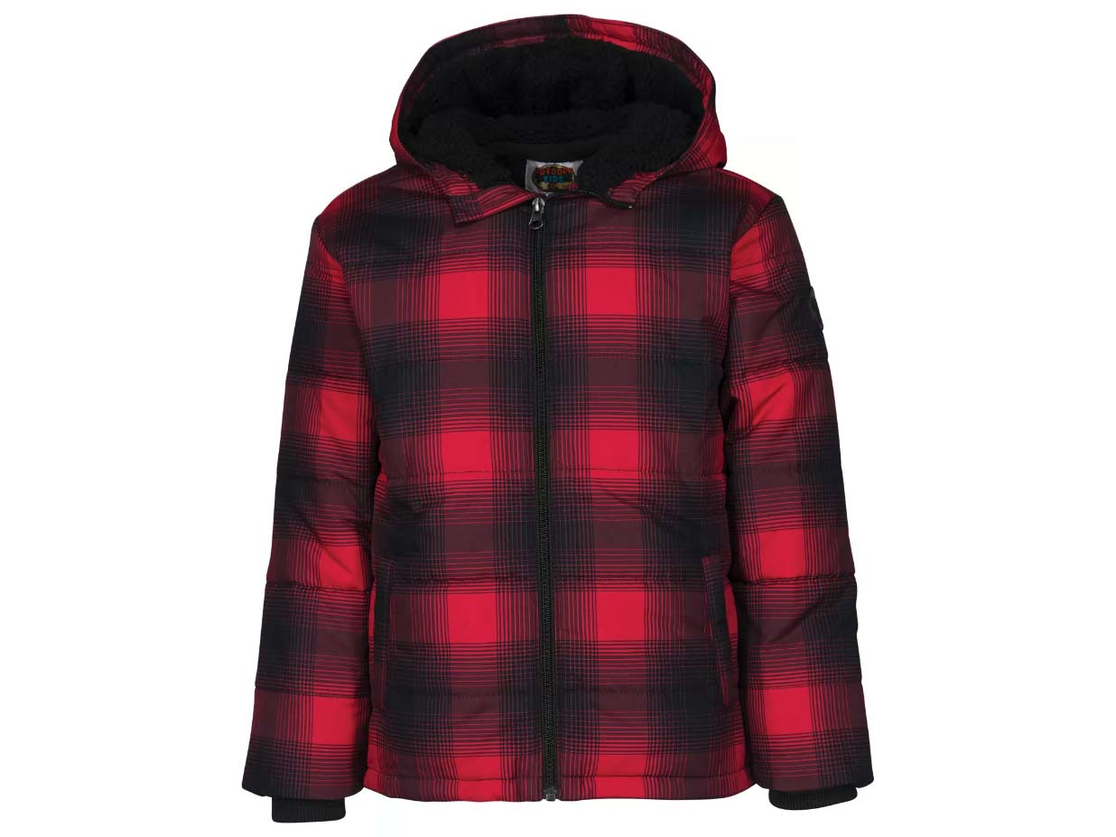 Outdoor Kids Puffer Jacket for Toddlers or Boys