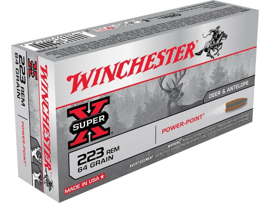 A box of Winchester Power Point ammo.