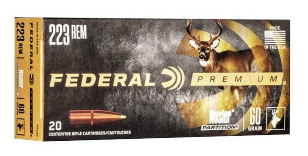 A box of Federal Premium ammo.
