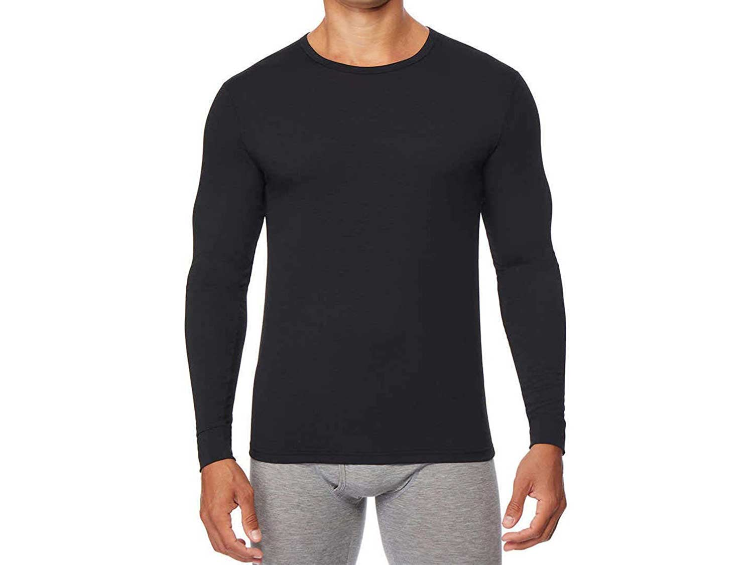 32 DEGREES Men's Heat Long Sleeve Crew Neck