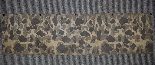 Camouflage waterproof fabric.