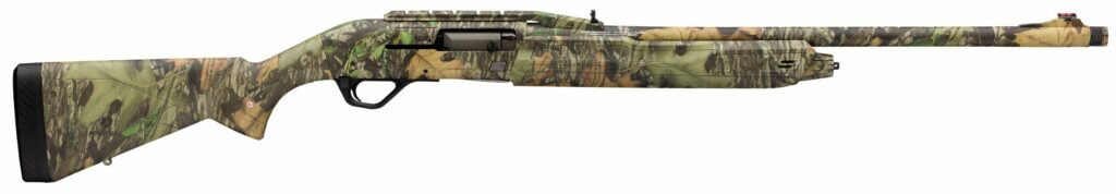 The Winchester NWTF Cantilever Turkey shotgun.