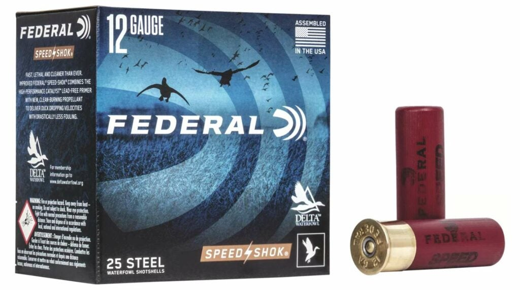A box of Federal Premium ammo.