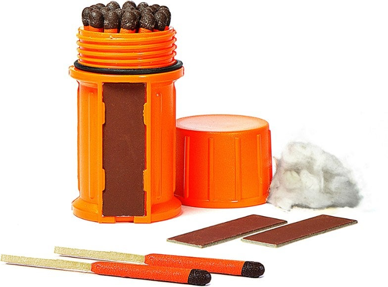 UCO Stormproof Match Kit with Waterproof Case.