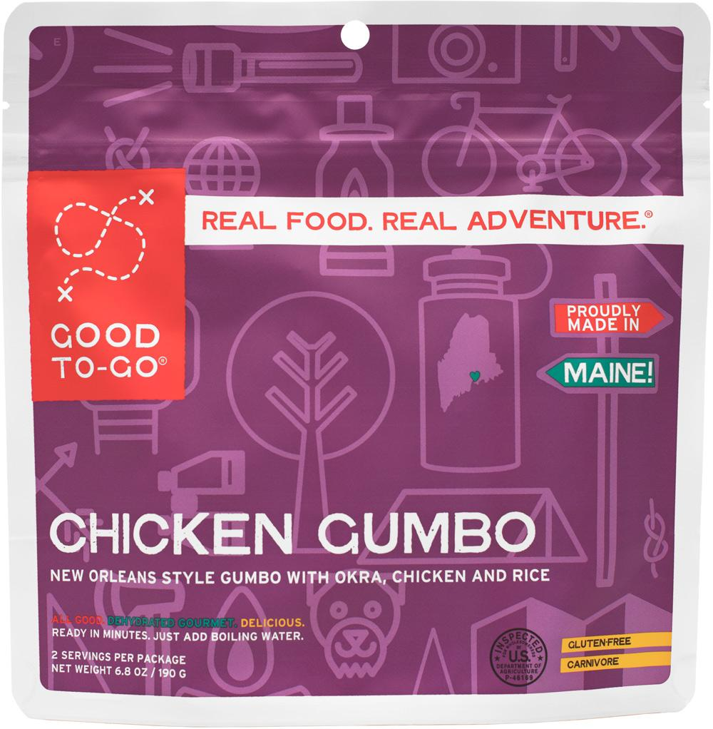 Good to Go freeze-dried meal
