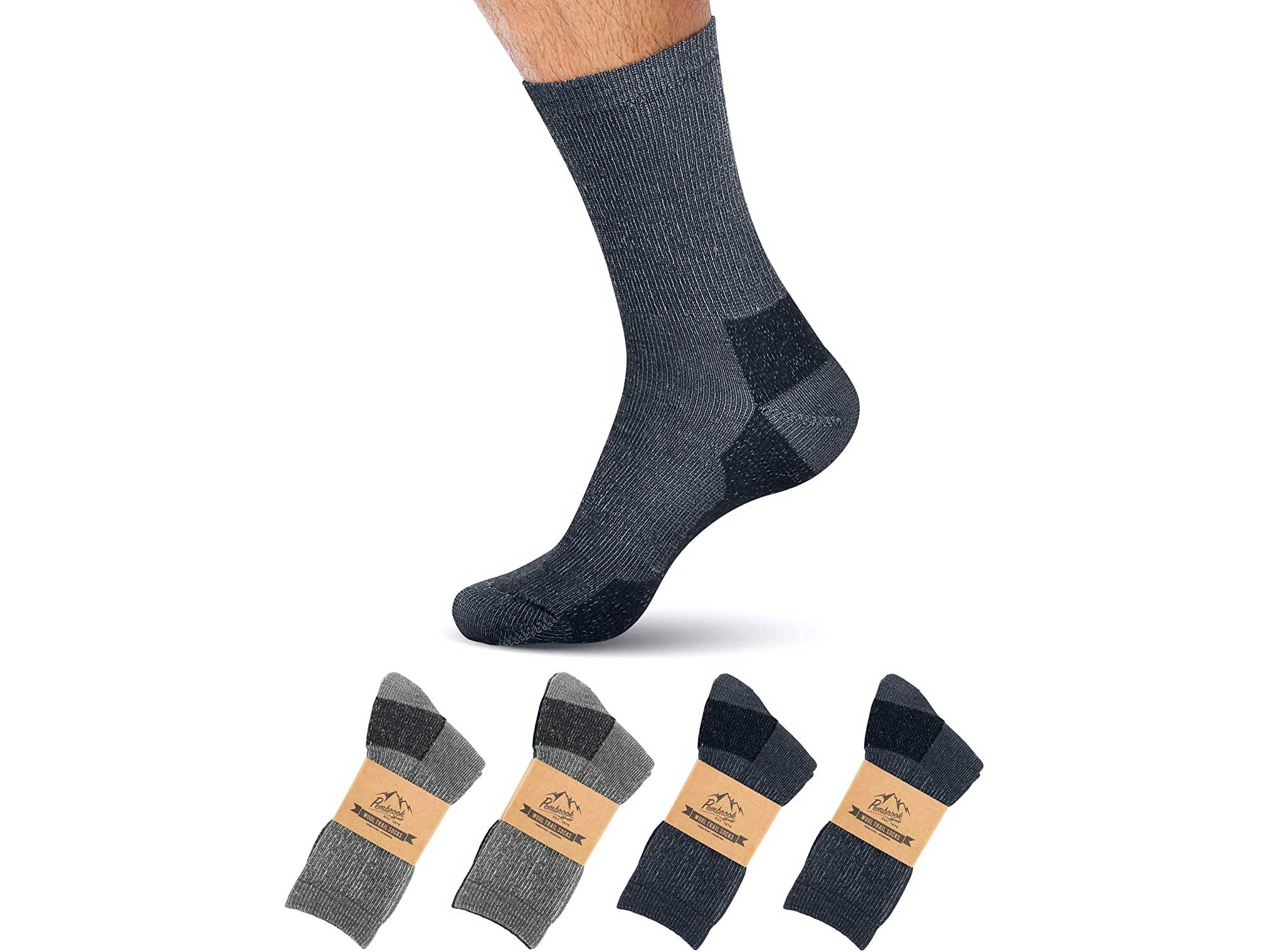 Pembrook Merino are the best warm socks on a budget