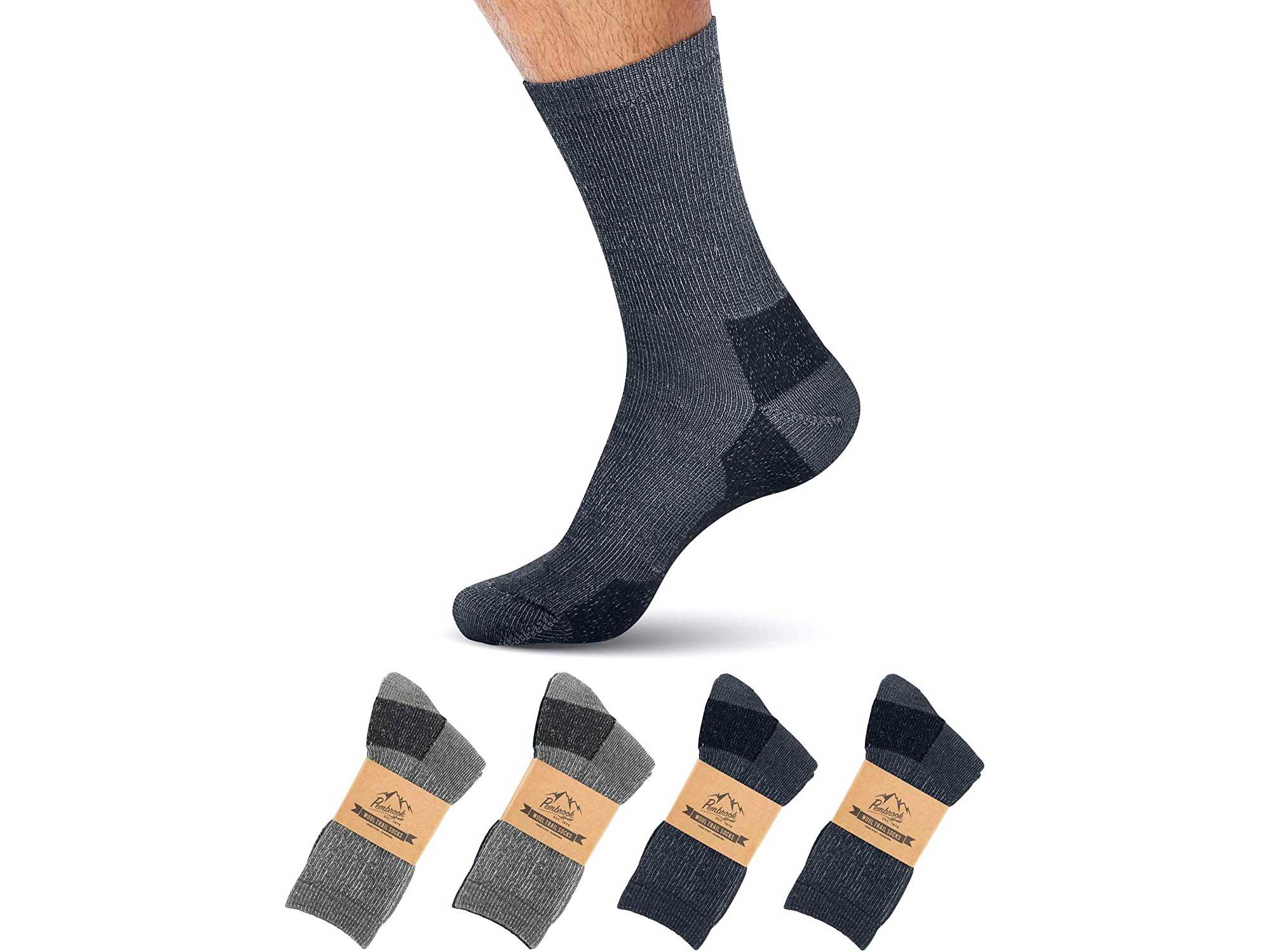 Pembrook Merino Wool Socks For Women & Men