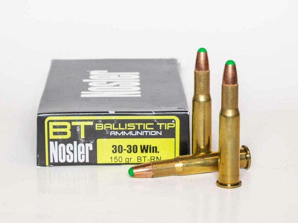 Nosler Ballistic Tip 150-grain .30.30.