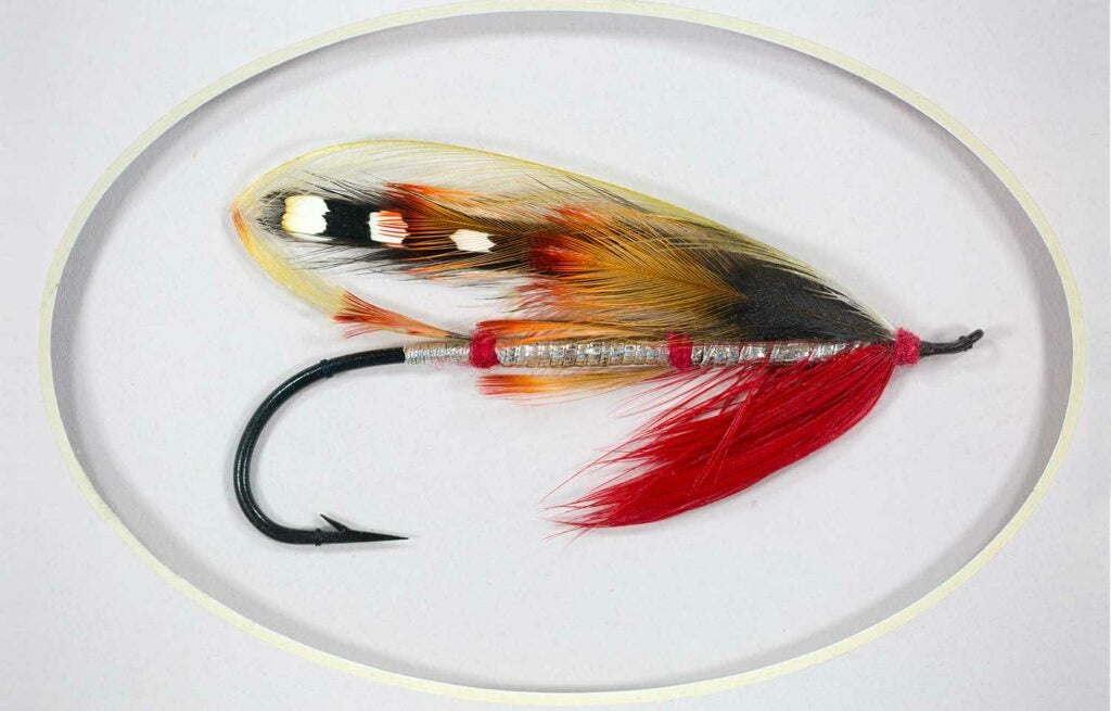 Red Sandy salmon fly