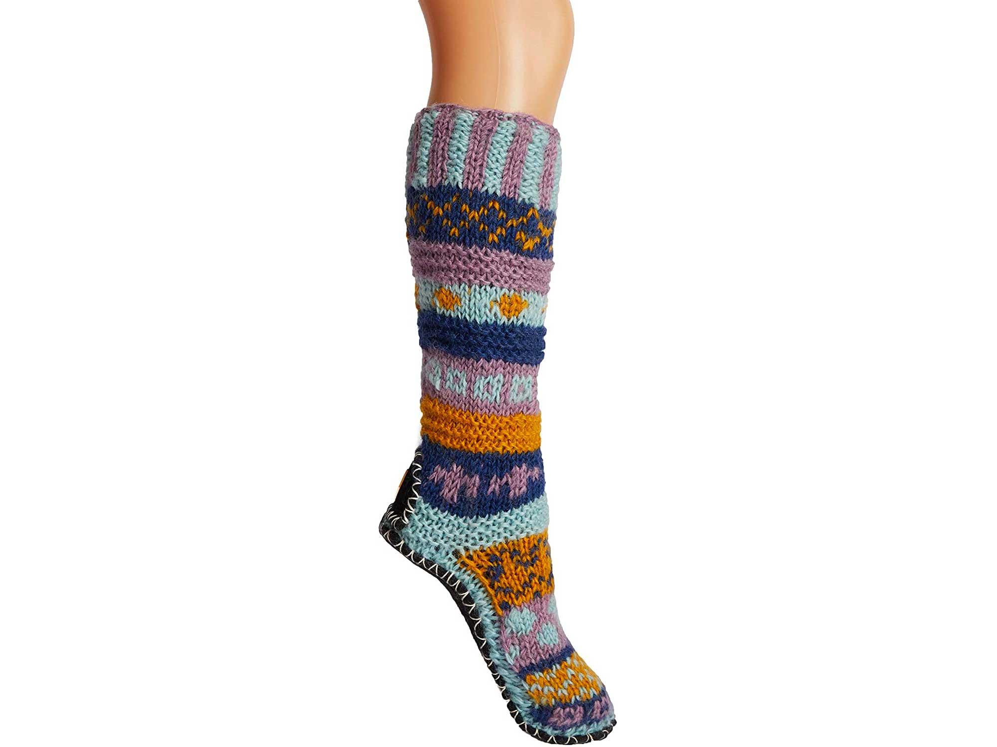 Tibetan Socks are the best warm socks for a cabin trip