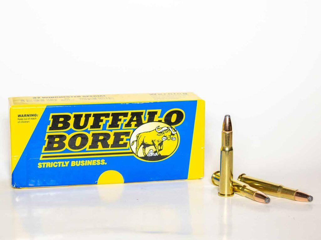 Buffalo Bore ammo in .32 Winchester Special.