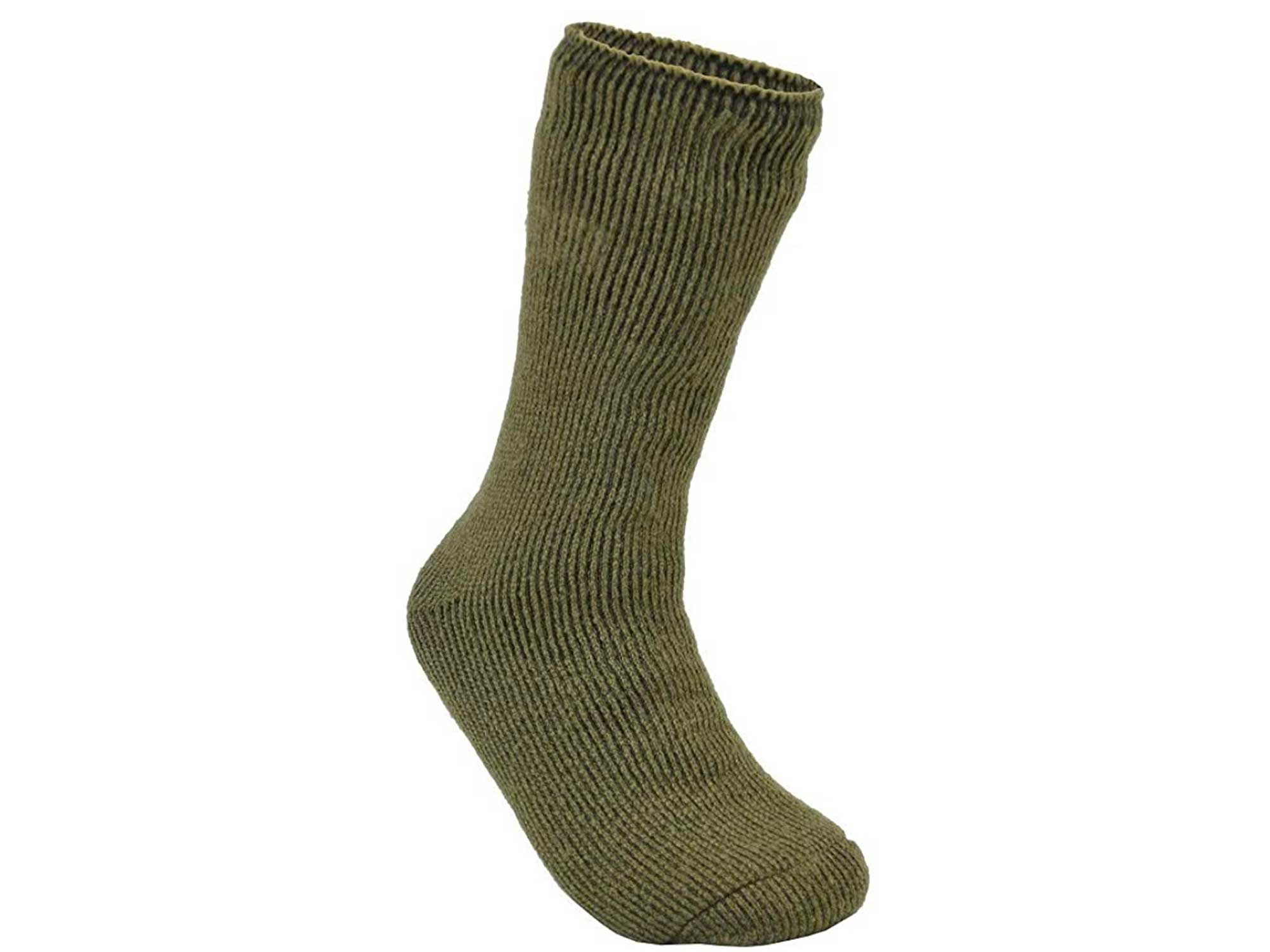 EcoSox Unisex Blue Flame Thermal Crew Boot Socks
