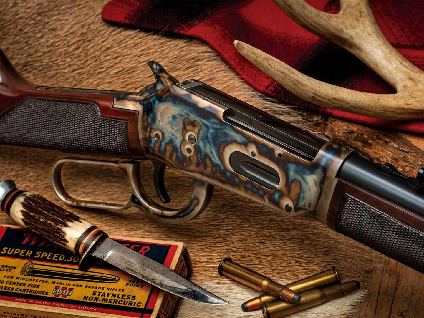 A stunning Winchester 1894 in .30/30, finished by Turnbull Restoration.