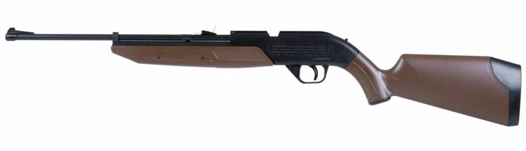 Many folks started out with pump gun like the Crosman 760B Pumpmaster.