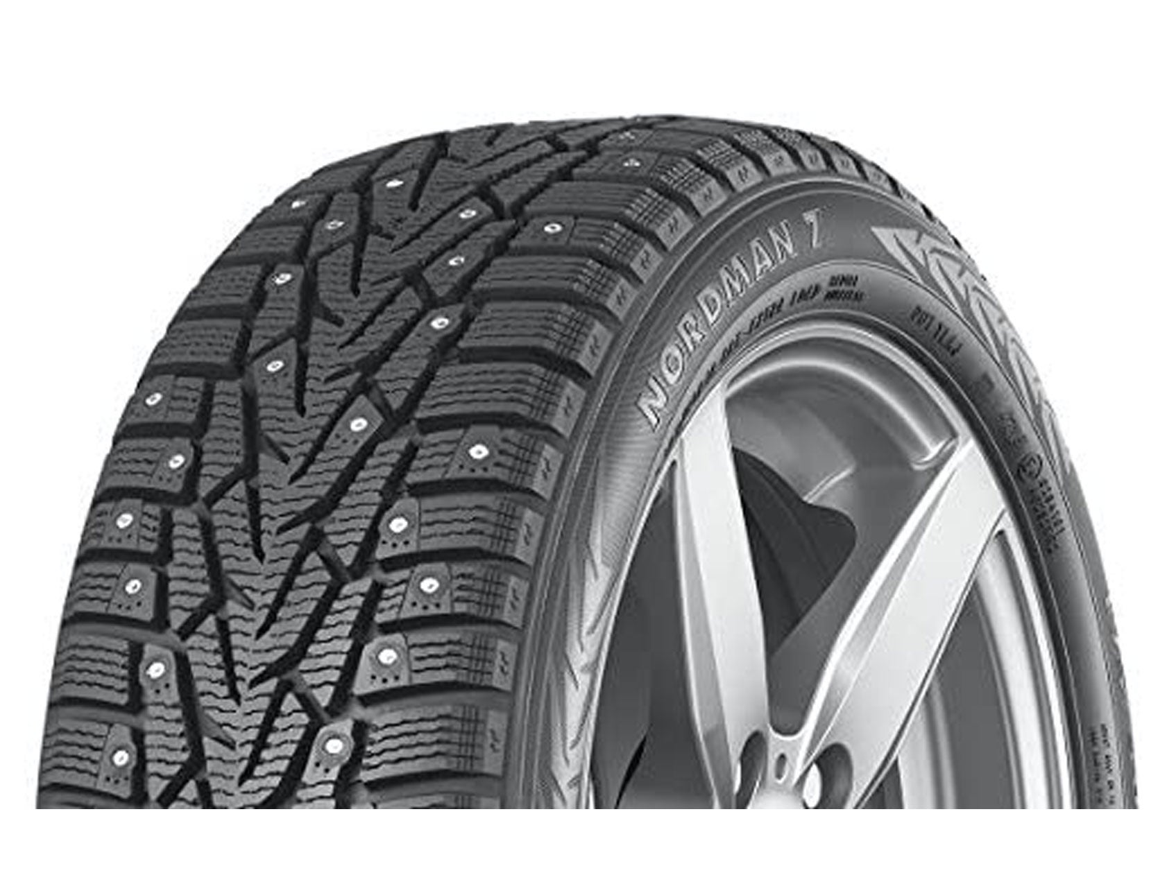 Nokian Nordman 7 Studded Winter Tire are some of the best snow tires.