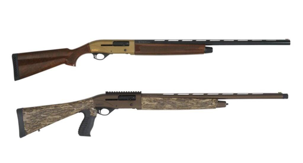 The Tristar Viper G2 Bronze (top) and Viper G2 Turkey.
