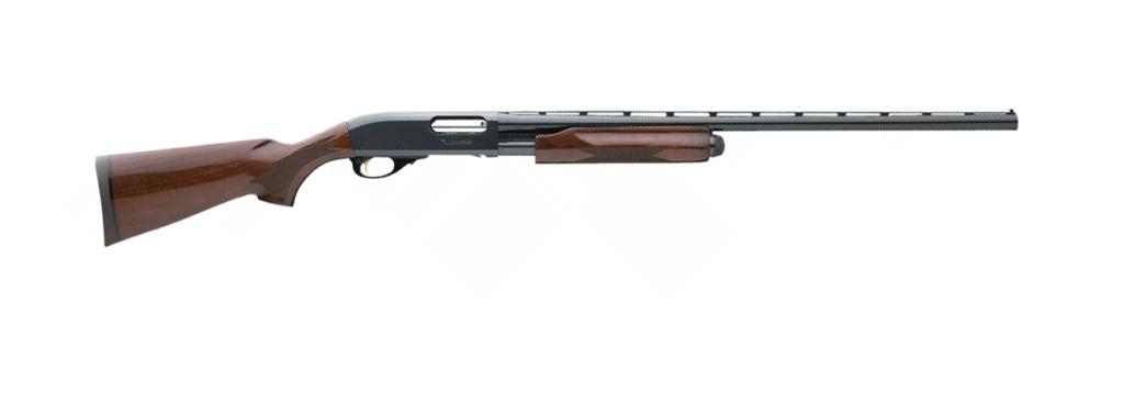 The Remington 870 Wingmaster in 12-gauge.