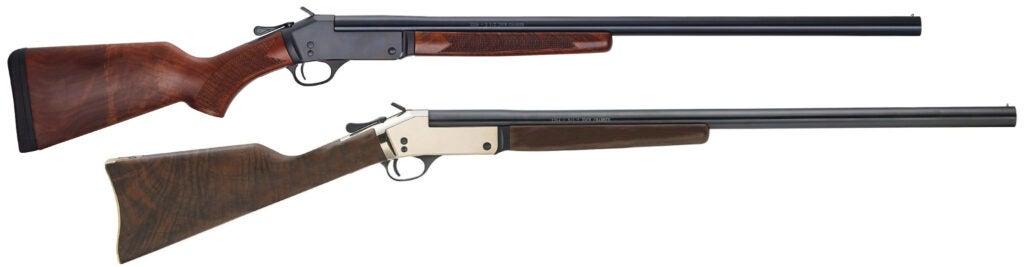 The Henry Single Shot shotgun in 12 gauge.