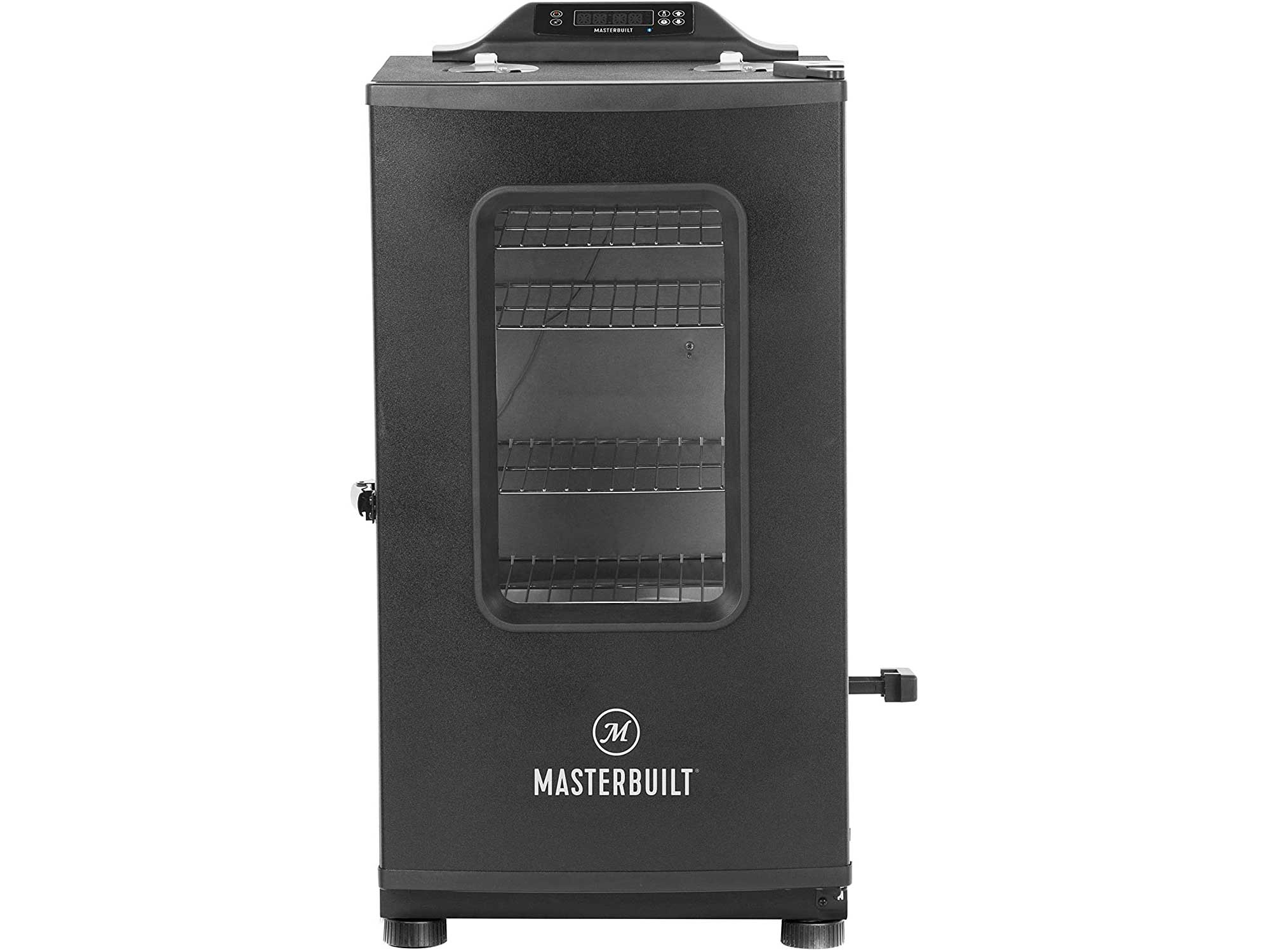 Masterbuilt Bluetooth Digital Electric Smoker with Broiler, 30 inch