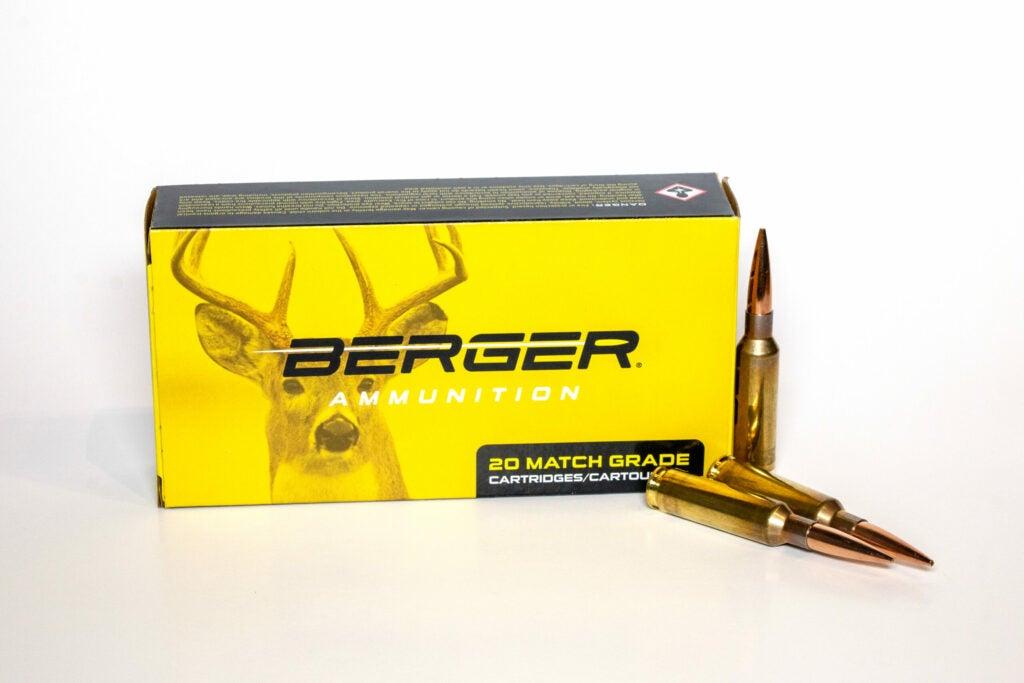 Berger 6.5 Creedmoor Ammunition.