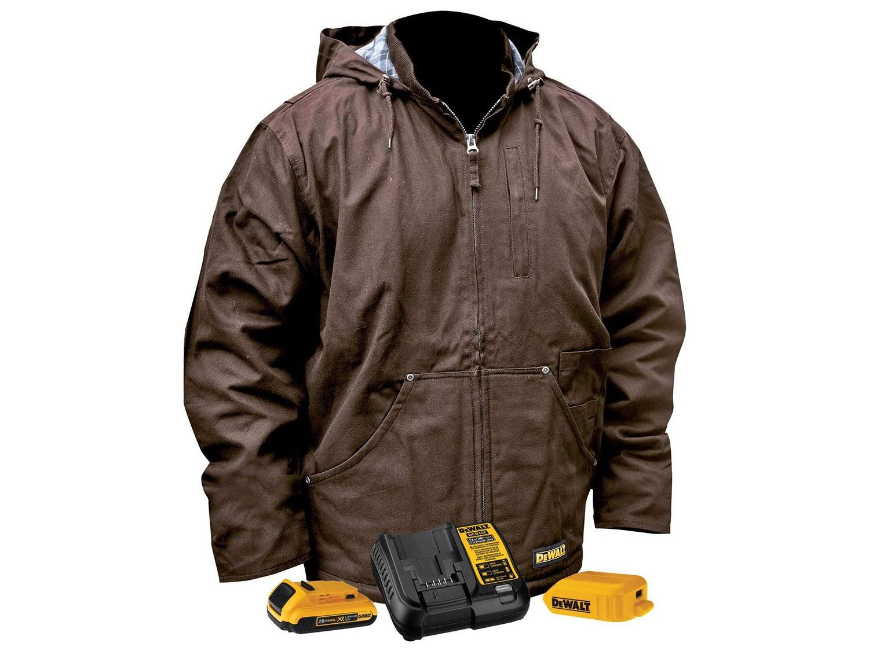 Dewalt Heated Heavy-Duty Work Coat