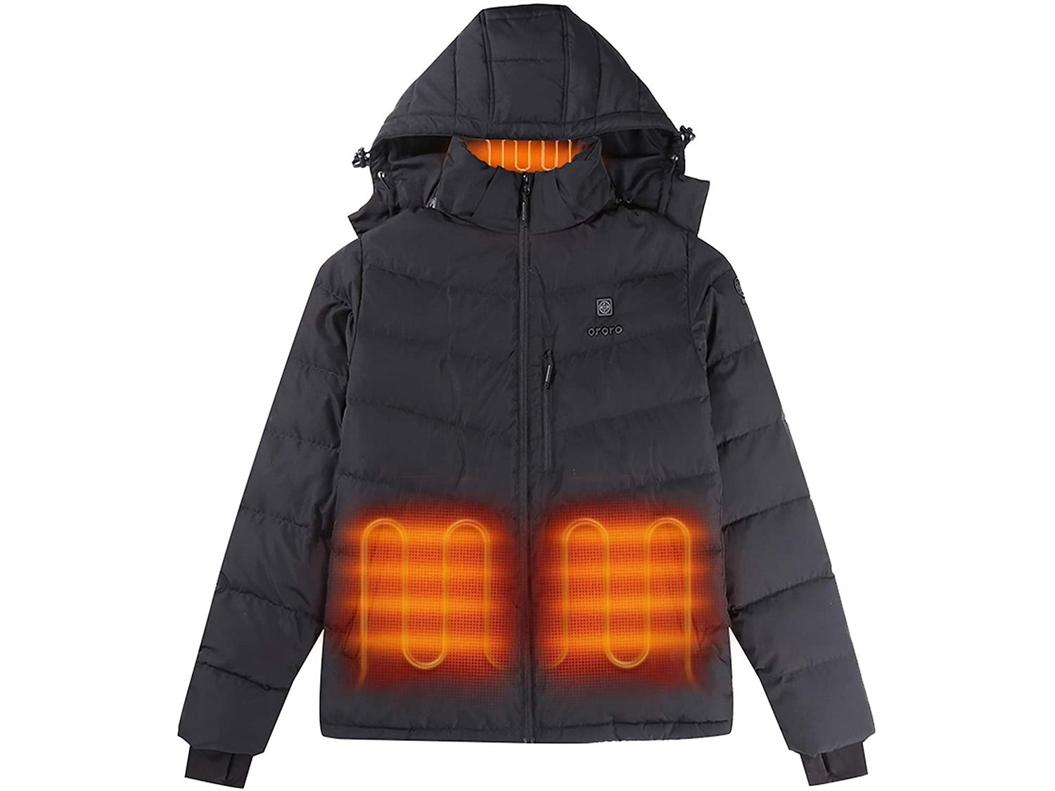 Ororo 2021 Heated Jacket with Down Insulation