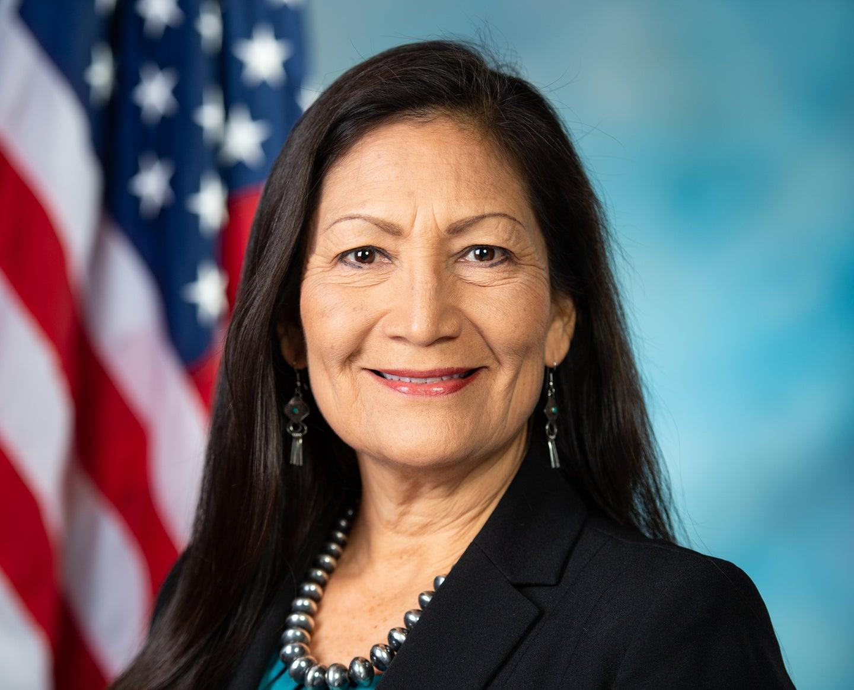 Congresswoman Debra Haaland.