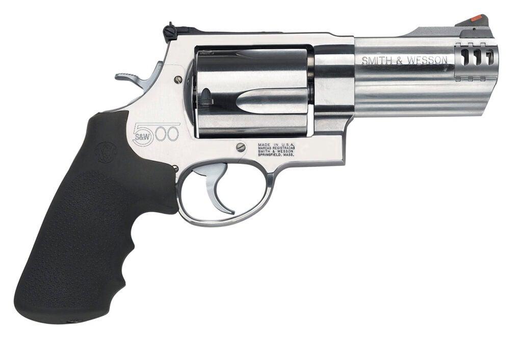 500 Smith & Wesson Magnum revolver.