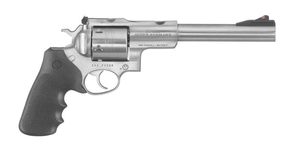 The Ruger Super Redhawk in 454 Casull.