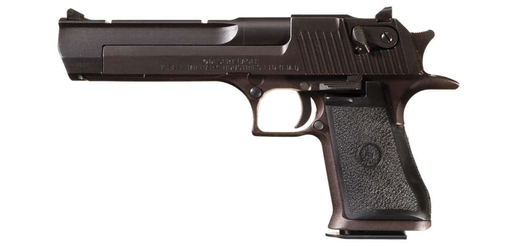 The Magnum Research Desert Eagle in .50 AE.