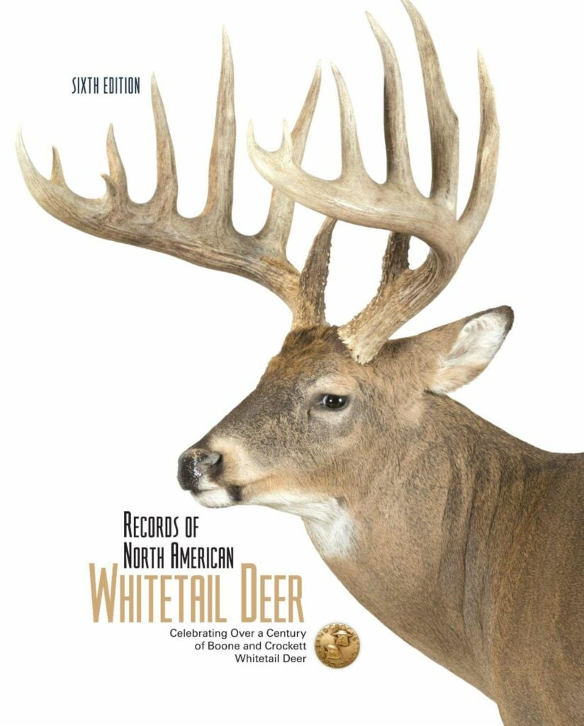 The cover of a book featuring a whitetail buck.