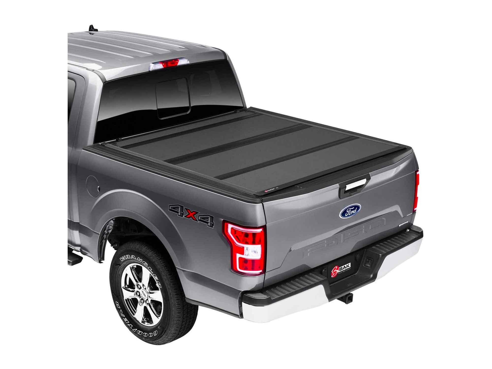 "BAK BAKFlip MX4 Hard Folding Truck Bed Tonneau Cover | Fits 2015 - 2020 Ford F150 5' 7"" Bed (67.1"")"