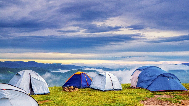 Best tents on a mountain ridge