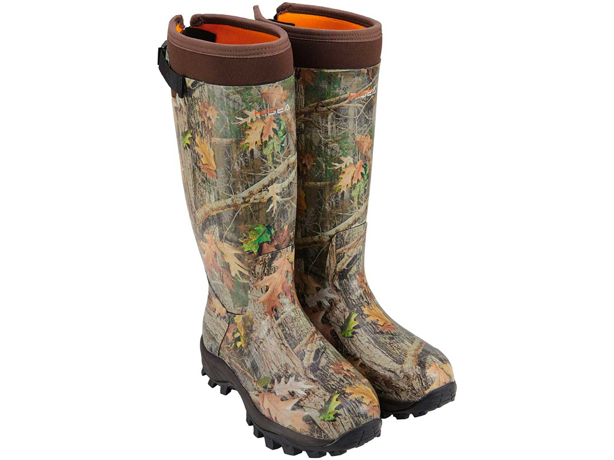HISEA Apollo Basic Hunting Boots for Men Waterproof Insulated Rubber Boots Rain Boots Neoprene Mens Boots