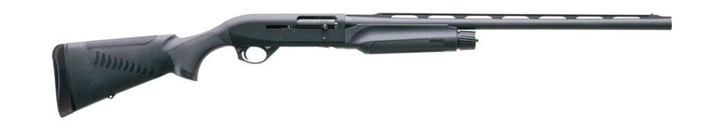 A Benelli M2 shotgun on a white background.