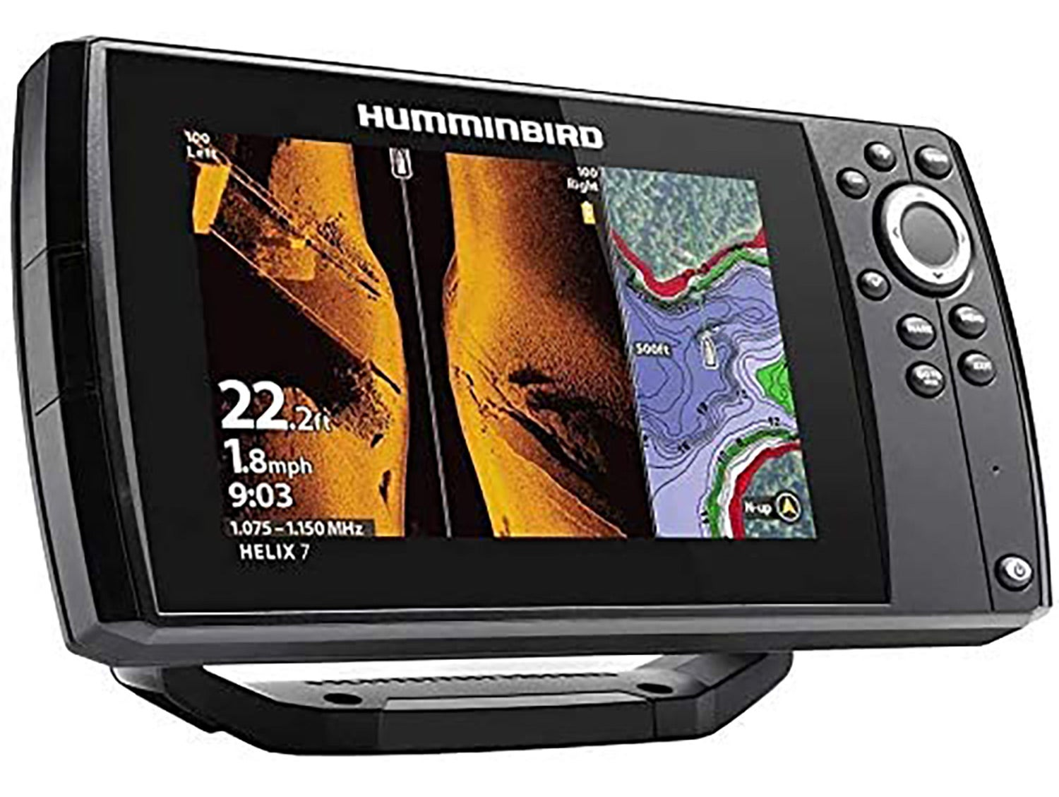 Humminbird Helix 7 Chirp Mega SI GPS G3 Nav Fish Finder+