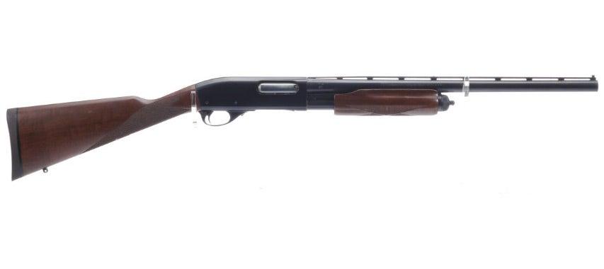 A Special Field Remington 870 shotgun on a white background.