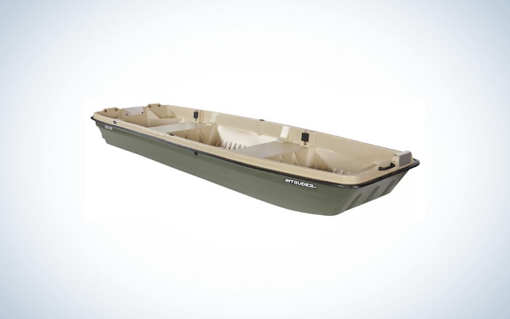 light khaki/khaki jon boat