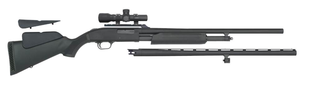 Mossberg 500 Field and Slug Combo 20-gauge deer gun