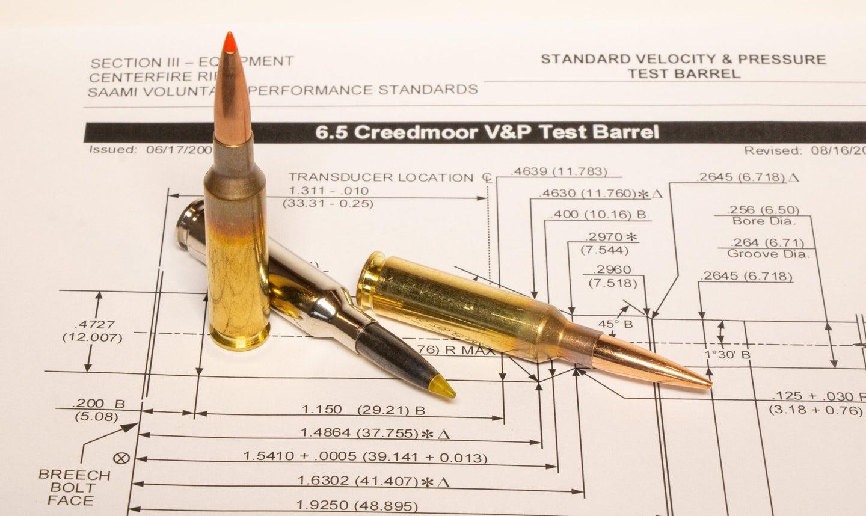 260 Remington 6.5 Creedmoor cartridge ballistic comparison test best