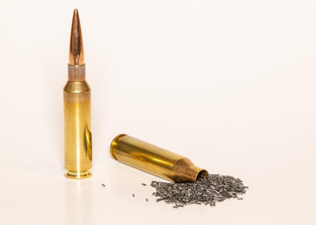 260 Remington powder case capacity bigger 6.5 Creedmoor