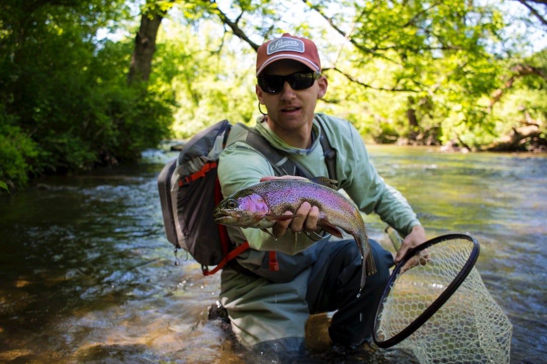 flyfishing-for-rainbow-trout
