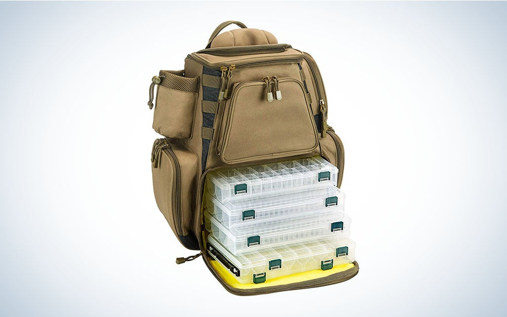 tackle and fishing backpack