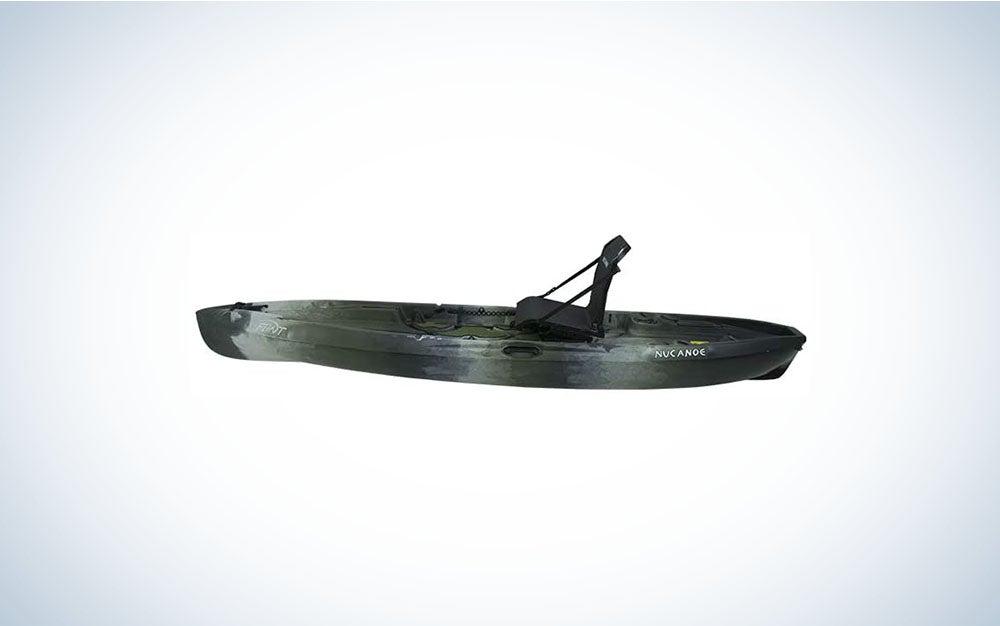 Black paddle kayak