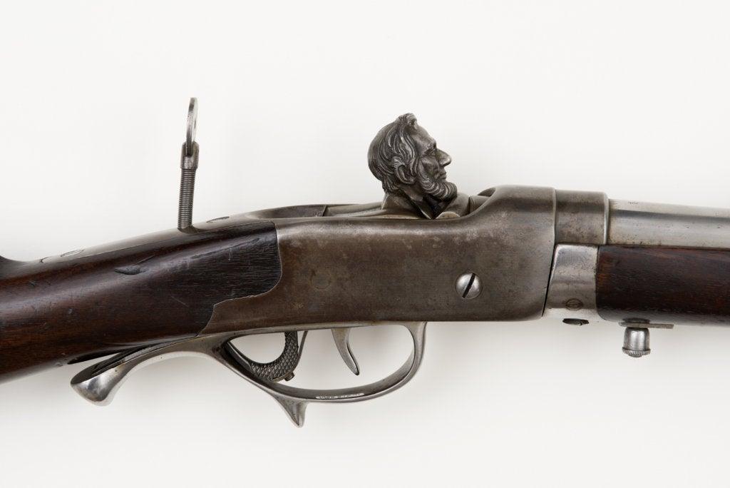 President Lincoln's Berdan rifle.